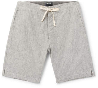 Todd Snyder Striped Slub Cotton Drawstring Shorts