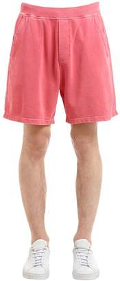 DSQUARED2 Oversized Cotton Jersey Sweat Shorts