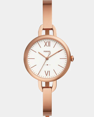 Fossil Annette Rose Gold-Tone Analogue Watch