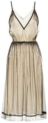 Prada Embellished Tulle Dress