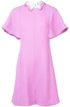 Lela Rose collared mini dress