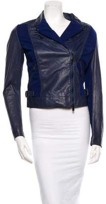 Bottega Veneta Leather Moto Jacket w/ Tags