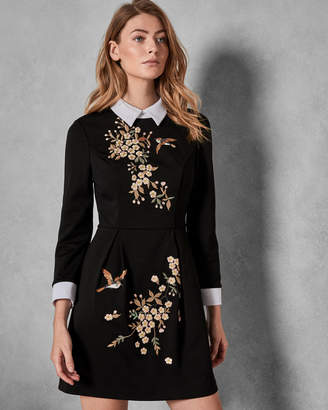 Ted Baker ELLAN Graceful collared dress