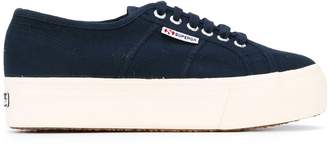 Superga platform lace-up sneakers