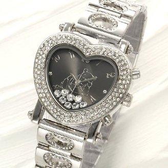 Disney (ディズニー) - 【Disney(ディズニー)】デリシャスハートプーさん腕時計 ブラック