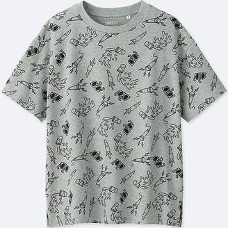 Uniqlo Women's Sprz Ny Graphic T-Shirt (timothy Goodman)