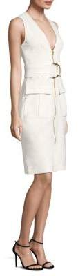Diane von Furstenberg Cotton Zip-Front Dress