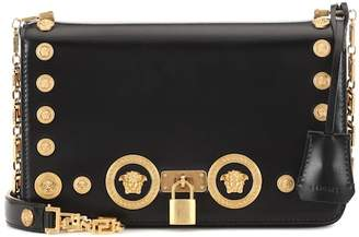 Versace Icon leather shoulder bag