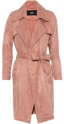Line Twill Trench Coat