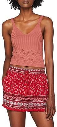 New Look Women's Stitchy Crochet Vest Top,(Manufacturer Size:16)