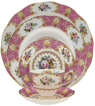 Royal Albert Lady Carlyle Bone China 5 Piece Place Setting, Service for 1