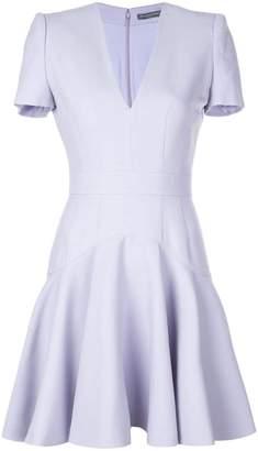 Alexander McQueen tailored mini ruffle dress