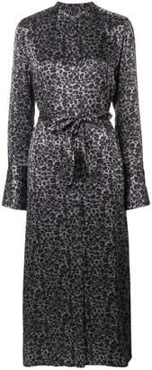 Equipment Connell leopard-print maxi dress
