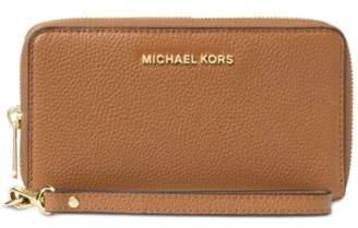 Michael Kors MICHAEL Mercer Large Flat Multi Function Phone Case