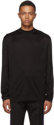 Lanvin Black Mock Neck T-Shirt