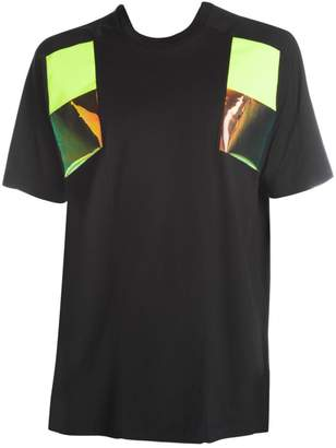 DSQUARED2 Neon Shoulder Patch Tee