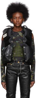 Eytys Black Michiko Koshino Edition Omega Vest