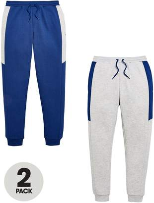 Very 2 Pack Joggers Navy / Grey