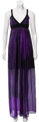Scanlan Theodore Silk Maxi Dress