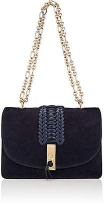 Altuzarra Women's Ghianda Flap-Front Shoulder Bag - Navy