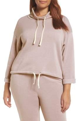 Alternative Drawstring Cowl Neck Pullover