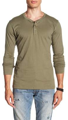 MTL APPAREL Long Sleeve Button Henley