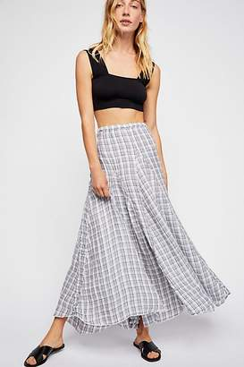 Cp Shades Lily Linen Maxi Skirt