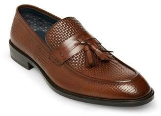 Steve Madden Tassel Embossed Leather Slip-On Loafer