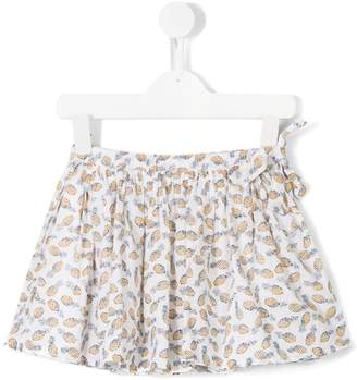 Simple pineapple print skirt