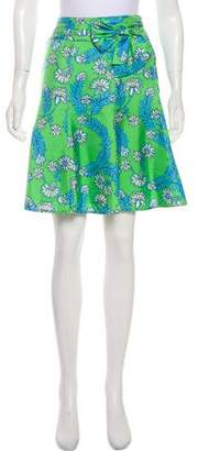 Lilly Pulitzer Silk Knee-Length Skirt