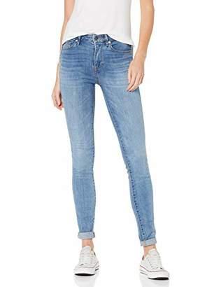 1615cdee03 Tommy Hilfiger Women's TH ESS Como Skinny RW Velour Jeans, Blue 912, W28/