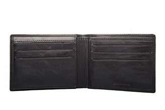 Men's Leather Handmade RFID Blocking Ultra-Thin Bifold Wallet