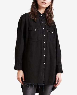 Levi's Naza Oversized Cotton Shirt