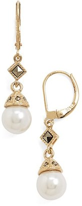 Women's Judith Jack Imitation Pearl Drop Earrings $80 thestylecure.com
