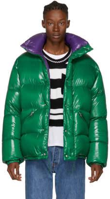 Moncler Green Down Dejan Jacket