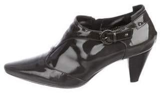 Aquatalia Patent Leather Ankle Booties Patent Leather Ankle Booties