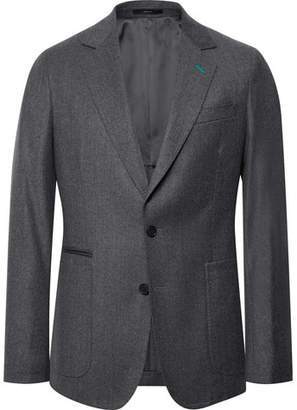 Paul Smith Grey Wool And Cashmere-Blend Suit Jacket