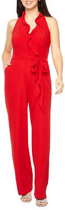 Chetta B BE BY Be by Sleeveless Belted Jumpsuit