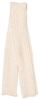 DSQUARED2 Oversize Rib Knit Shawl