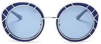Tory Burch Women's Round Sunglasses, 51mm