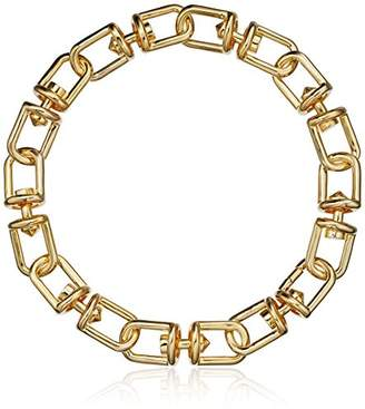 Eddie Borgo Fame Link Collar Chain Necklace