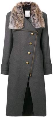 Pinko faux fur coat