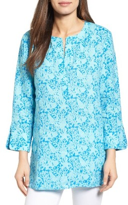 Women's Vineyard Vines Coral & Starfish Print Tunic $118 thestylecure.com