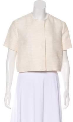 The Row Short Sleeve Textured Jacket