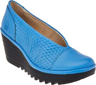 Fly London Leather Slip-on Shoes - Yena