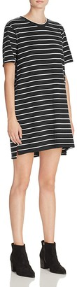 KNOT SISTERS Slouchy Striped T-Shirt Dress $69 thestylecure.com