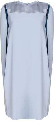 Max Mara draped shift dress