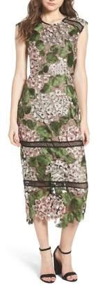 Bronx AND BANCO Cherry Hydrangea Lace Dress