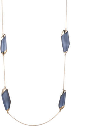 Alexis Bittar Lucite Station Necklace