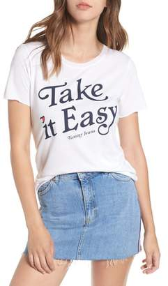 Tommy Jeans TJW Take It Easy Graphic Tee